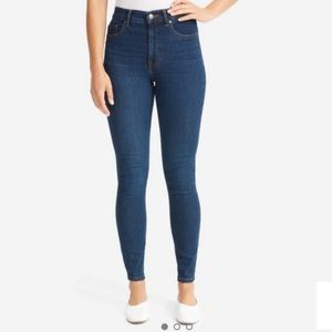 Everlane Authentic Stretch High-Rise Skinny Jean